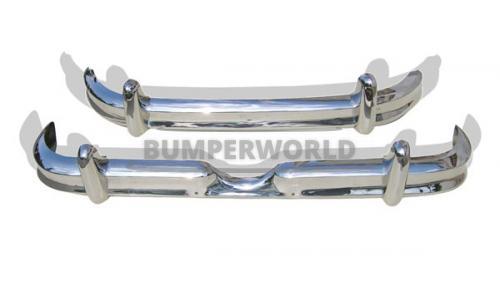 Daimler V8 bumpers met diepe persing (1962-1969)